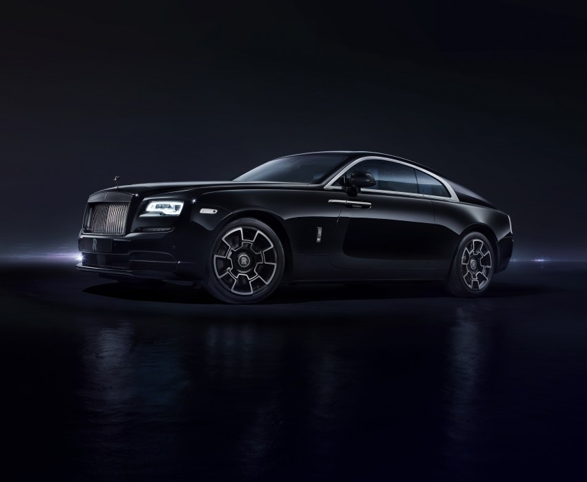Rolls-Royce introduces new Black Badge trim for Ghost and Wraith aimed at younger buyers Image #452017