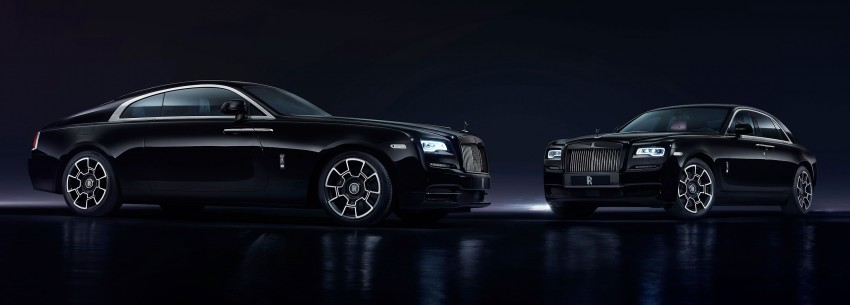 Rolls-Royce introduces new Black Badge trim for Ghost and Wraith aimed at younger buyers Image #452054