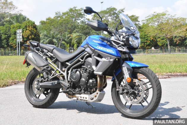 2015 Triumph Tiger XRx Low - low, certainly not slow