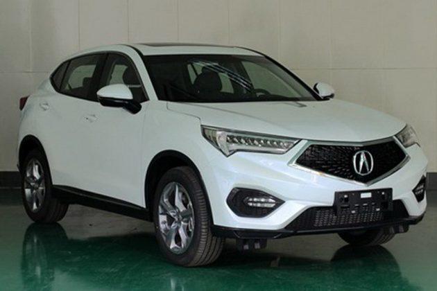 2016 Acura CDX Beijing leak 1