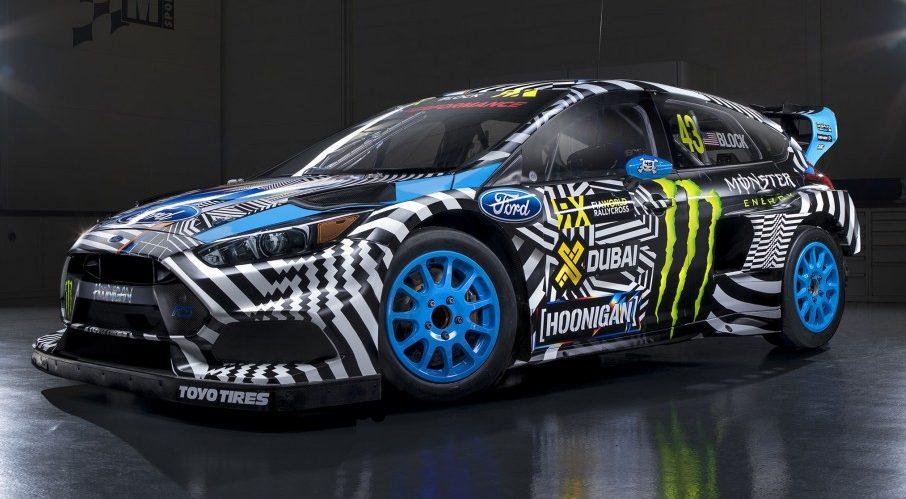 Ford Focus Rs Rx 600 Hp 900 Nm Rallycross Monster