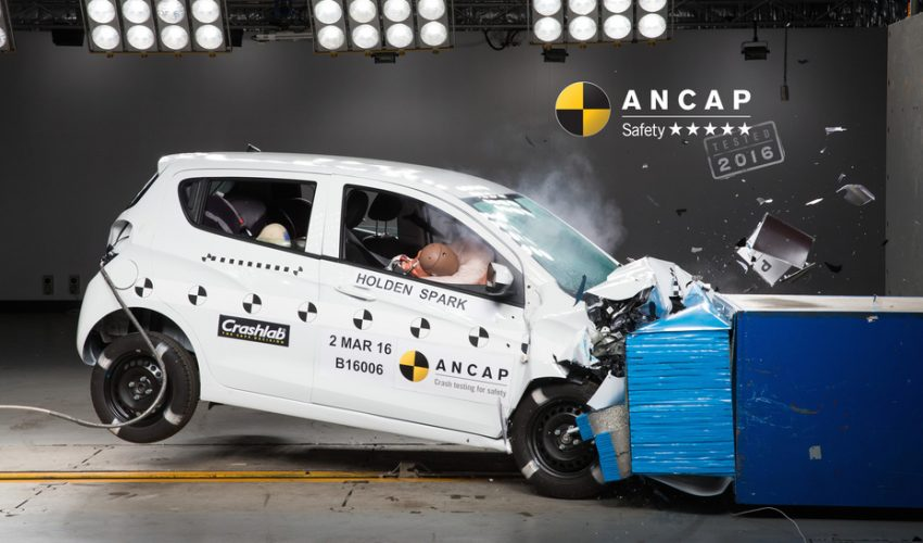 Kia Sportage, Jaguar XF, Holden Spark and Skoda Superb all receive five-star safety ratings from ANCAP Image #476397