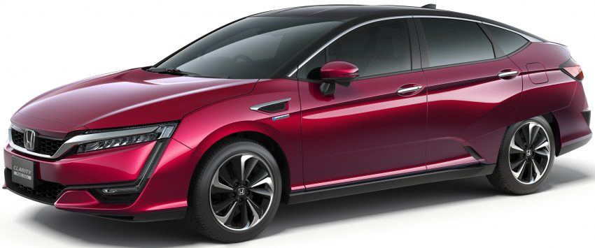 Honda Clarity Fuel Cell to be joined by all-electric and plug-in hybrid variants – US introduction due in 2017 Image #481945