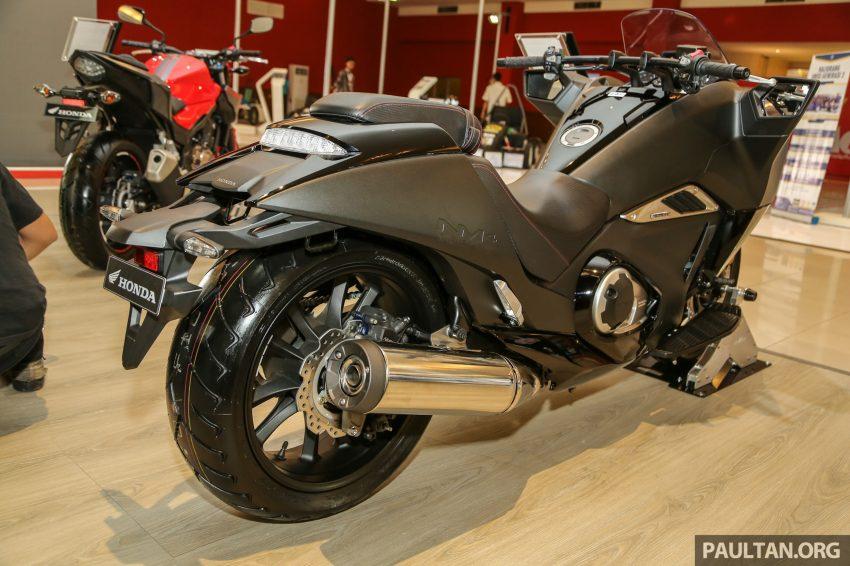 IIMS 2016: Honda NM4 Vultus maxi-scooter on show Image #476297