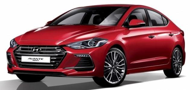 2016 Hyundai Elantra Sport 1