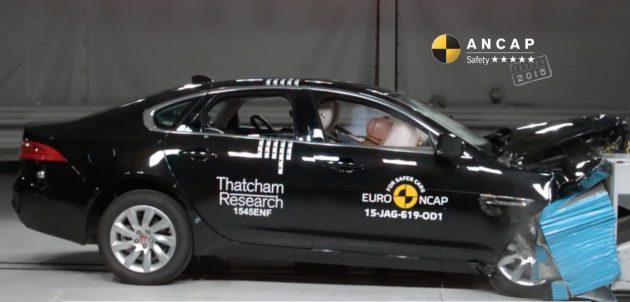 2016 Jaguar XF ANCAP crash test-01