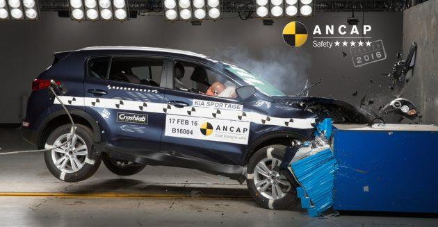 2016 Kia Sportage ANCAP crash test-01
