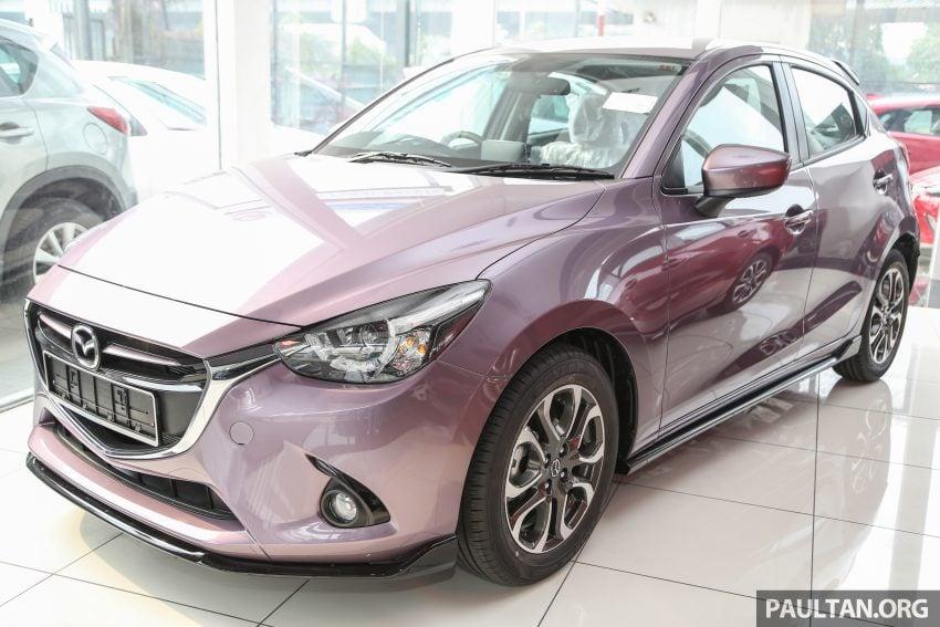 GALERI: Mazda 2 dan Mazda CX-3 2016 dengan pilihan warna tambahan baharu, tiada penambahan harga Image #485747