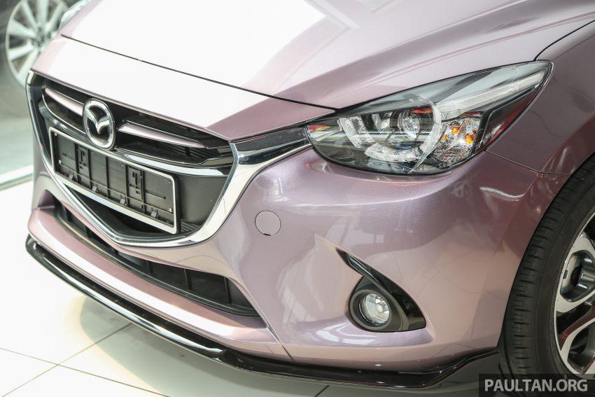 GALERI: Mazda 2 dan Mazda CX-3 2016 dengan pilihan warna tambahan baharu, tiada penambahan harga Image #485746
