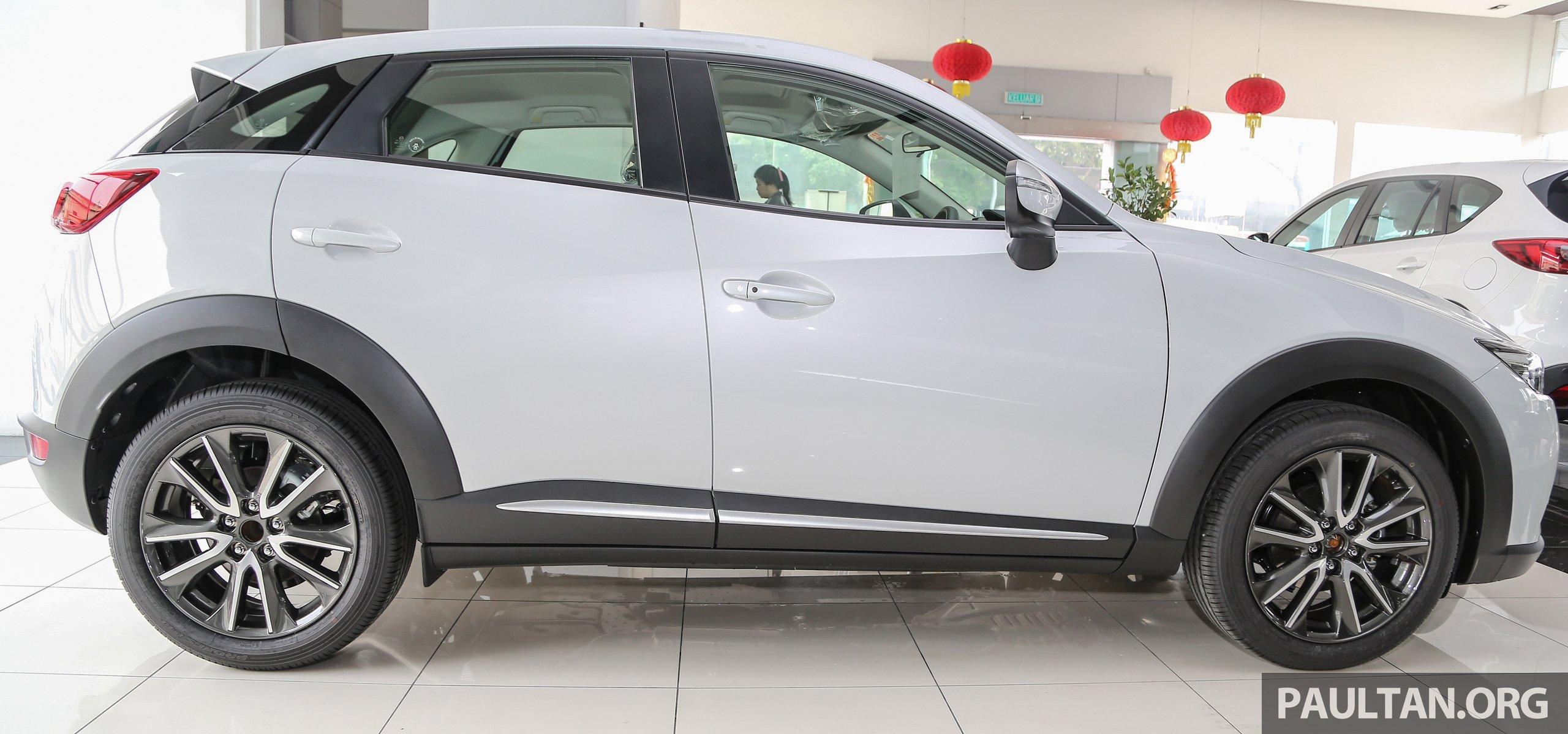 Mazda Cx 3 >> GALLERY: 2016 Mazda 2 and CX-3 in more colours Paul Tan ...