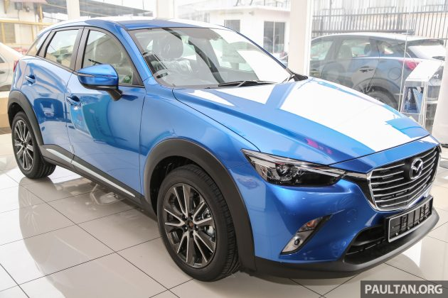 2016 Mazda CX-3 Dynamic Blue Mica 2