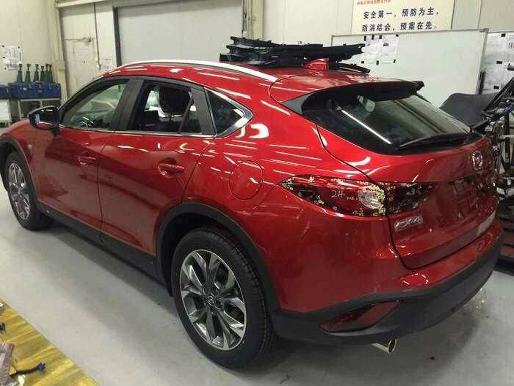 Spyshots Mazda Cx 4 Revealed Almost Completely Image 473076