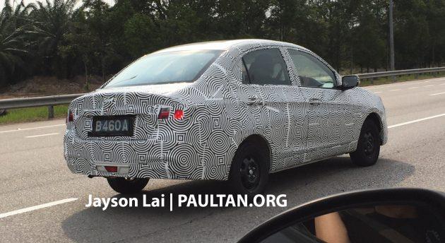 2016 Proton Saga prototype 1