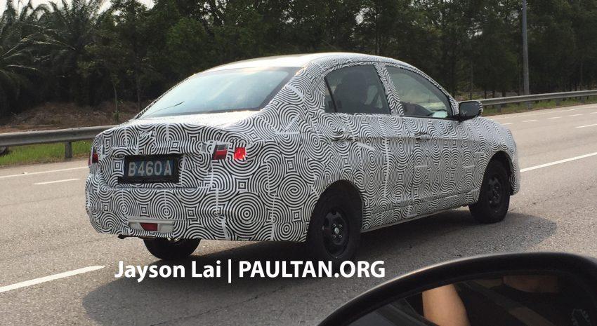 SPYSHOT: Proton Saga 2016 dilihat diuji lagi Image #484758