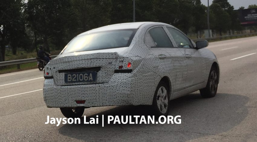 SPIED: 2016 Proton Saga spotted testing yet again Image #484620
