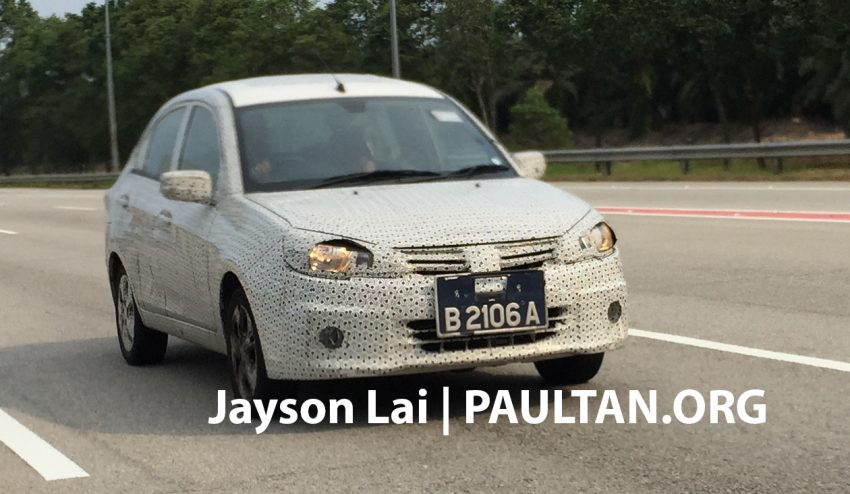 SPIED: 2016 Proton Saga spotted testing yet again Image #484623