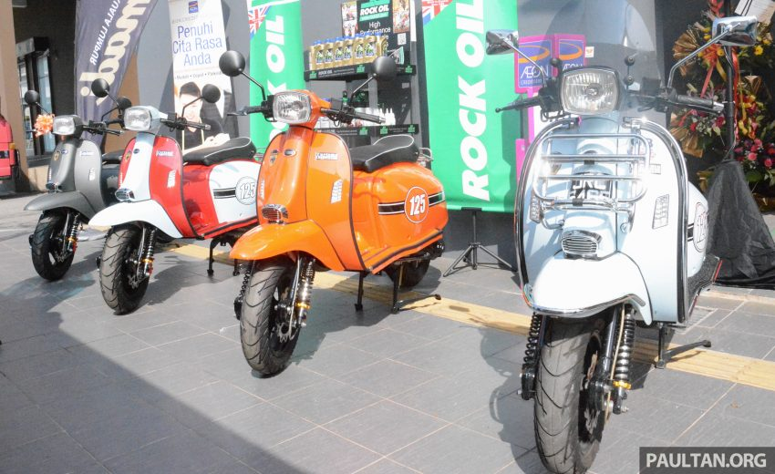 Scomadi scooters from UK opens KL 3S concept centre – Turismo Leggera TL125, from RM9,069 Image #478382