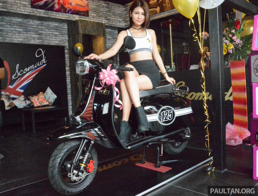 Scomadi scooters from UK opens KL 3S concept centre – Turismo Leggera TL125, from RM9,069 Image #478391