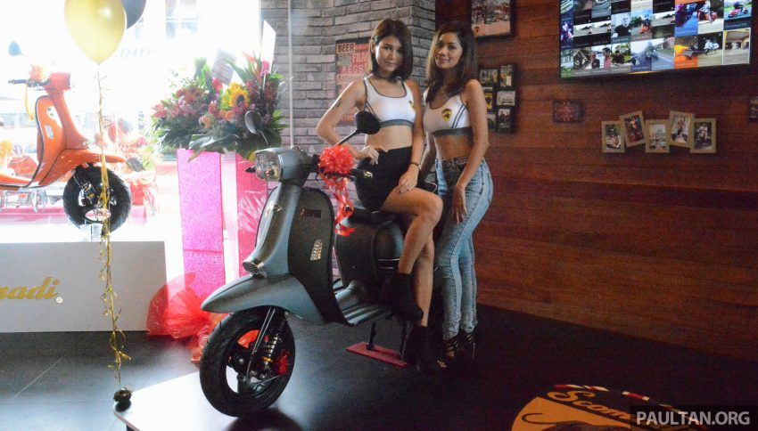 Scomadi scooters from UK opens KL 3S concept centre – Turismo Leggera TL125, from RM9,069 Image #478392