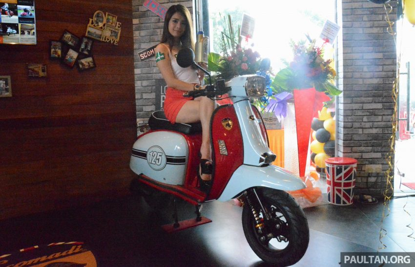 Scomadi scooters from UK opens KL 3S concept centre – Turismo Leggera TL125, from RM9,069 Image #478393