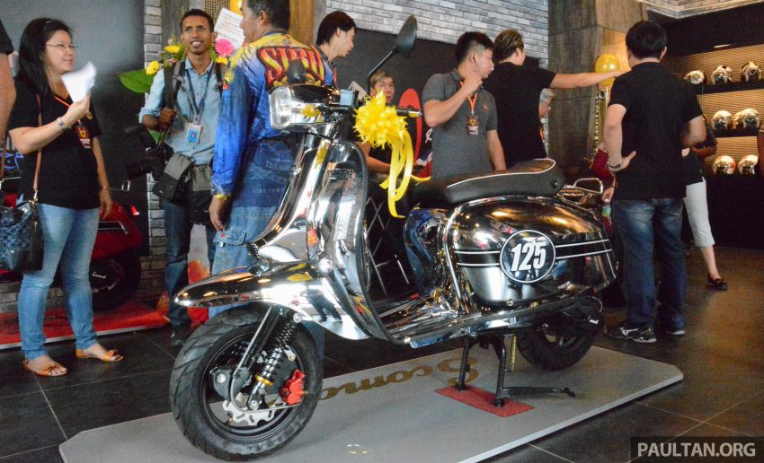 Scomadi scooters from UK opens KL 3S concept centre – Turismo Leggera TL125, from RM9,069 Image #478394