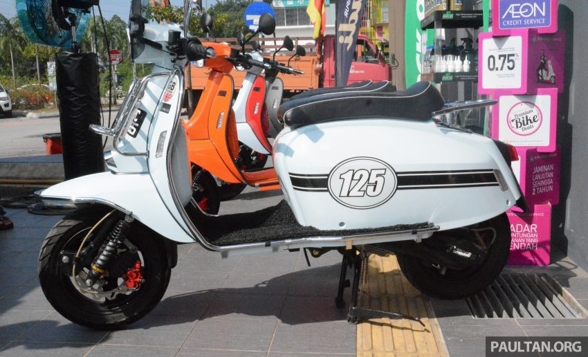 Scomadi scooters from UK opens KL 3S concept centre – Turismo Leggera TL125, from RM9,069 Image #478383