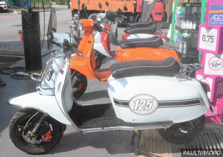Scomadi scooters from UK opens KL 3S concept centre – Turismo Leggera TL125, from RM9,069 Image #478386