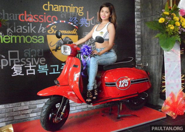 Scomadi scooters opens Thailand production plant