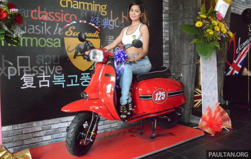 Scomadi scooters from UK opens KL 3S concept centre – Turismo Leggera TL125, from RM9,069 Image #478390