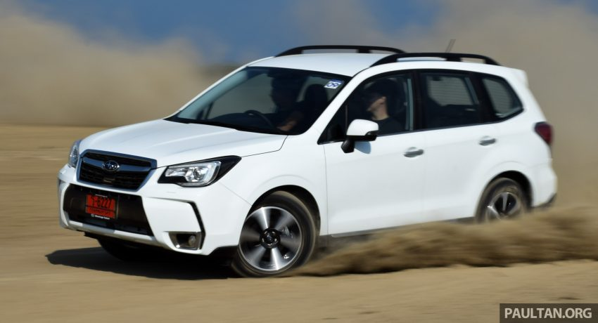 DRIVEN: Subaru Forester 2.0i-P – a worthy alternative? Image #480291
