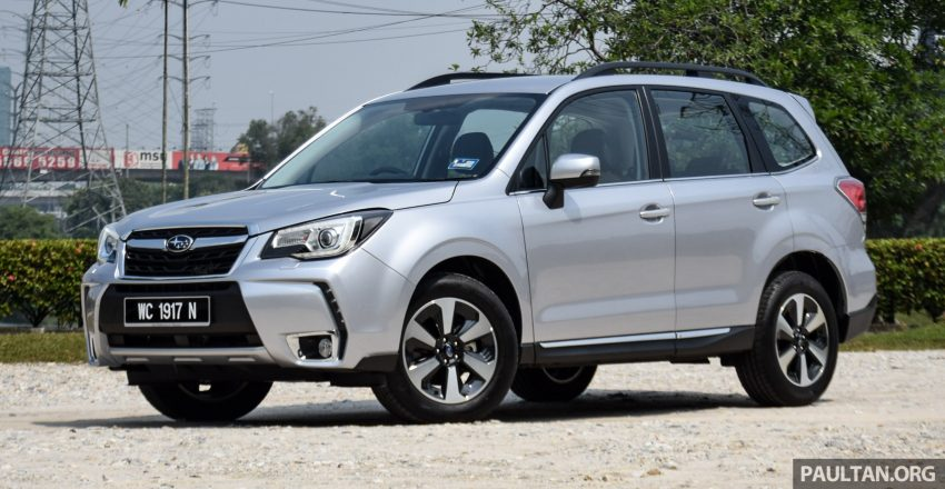 2016 Subaru Forester facelift launched in Malaysia, from RM140k – two NA CKD variants, one turbo CBU Image #476740
