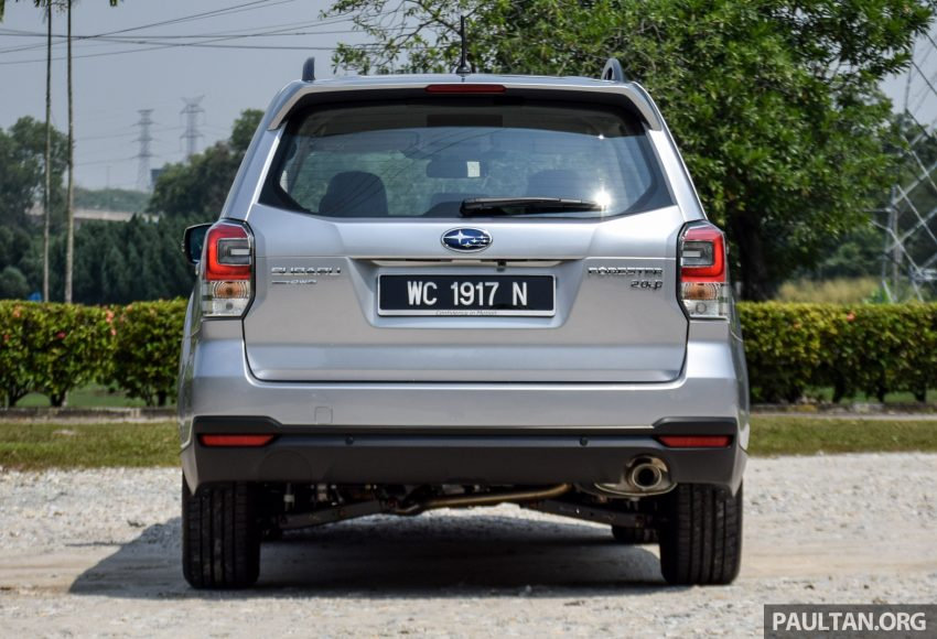 2016 Subaru Forester facelift launched in Malaysia, from RM140k – two NA CKD variants, one turbo CBU Image #476743