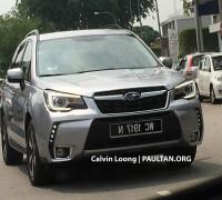 2016 Subaru Forester 2.0i-P spyshots 2