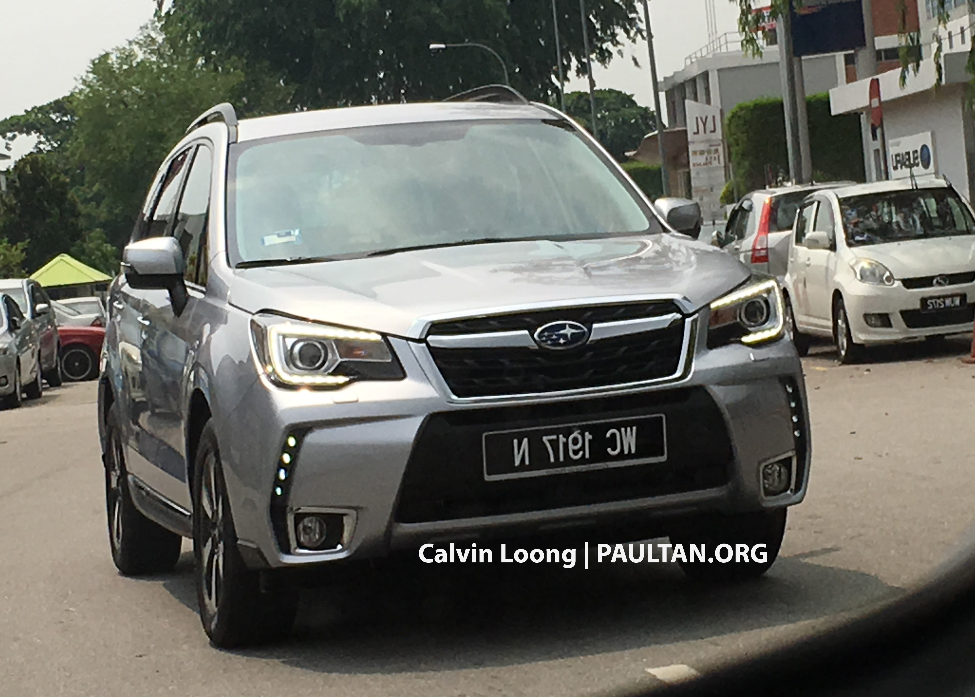 SPYSHOTS: 2016 Subaru Forester facelift in Malaysia Image 473461