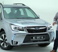 2016 Subaru Forester facelift walk-around