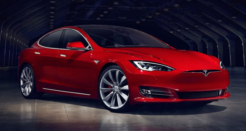 Tesla Model S updated with new looks, equipment Image #476085
