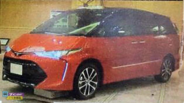 2016 Toyota Estima Previa leaked 2