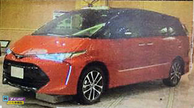 Back to Story: 2016 Toyota Estima/Previa facelift gets leaked early