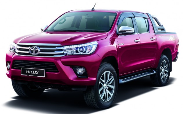 2016 Toyota Hilux Now Open For Booking From Rm90k