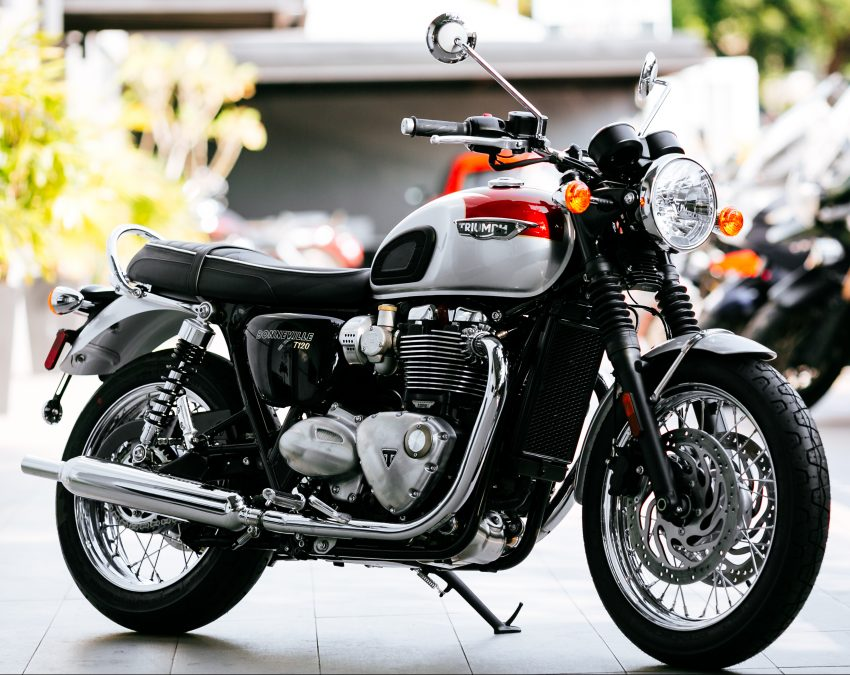 2016 Triumph Bonneville T120, T120 Black and Thruxton R official Malaysian release – from RM79,900 Image #478677