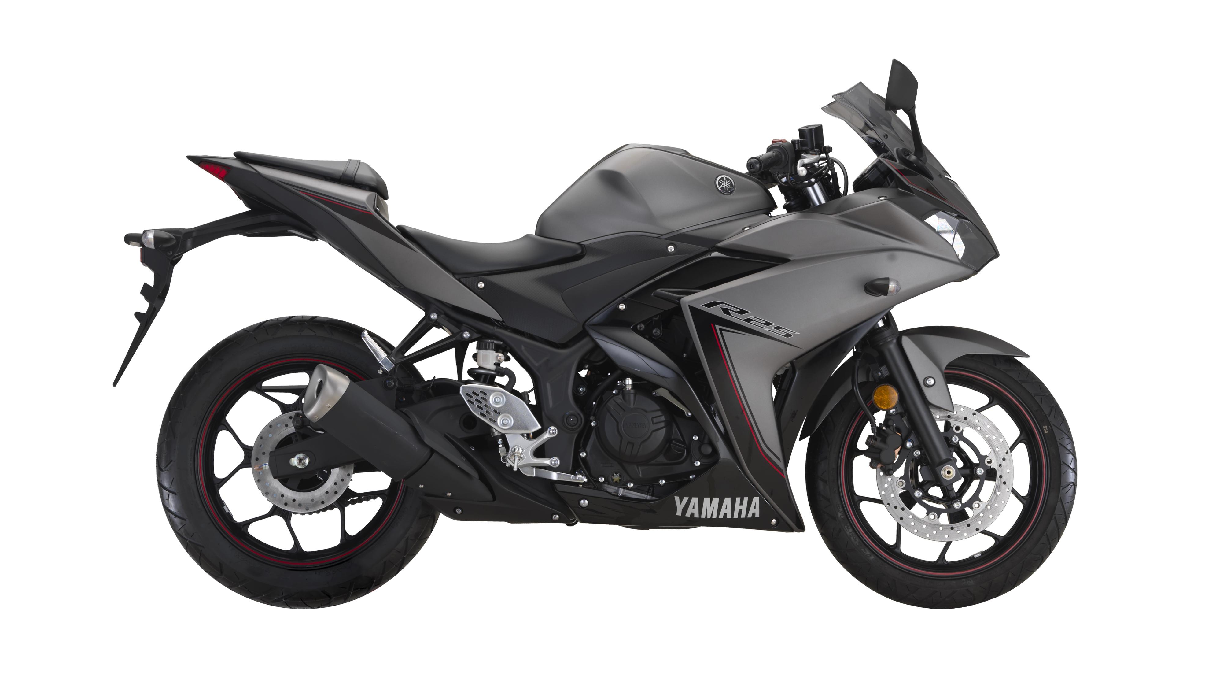 Black Yamaha R