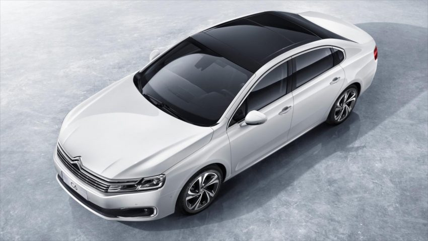 2016 Citroen C6 revealed – second-gen just for China Image #484356