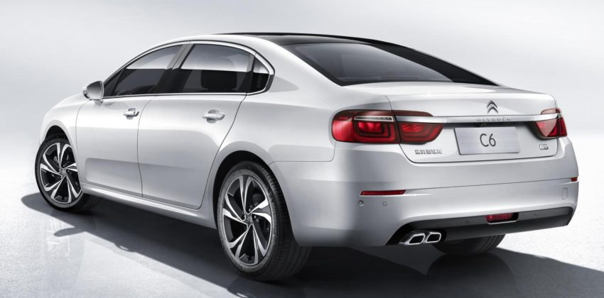 2016 Citroen C6 revealed – second-gen just for China Image #484360
