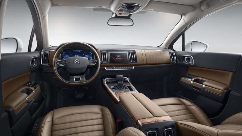 2016 Citroen C6 revealed – second-gen just for China Image #484363