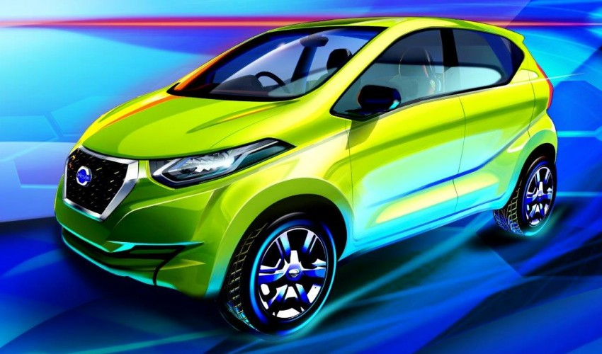 New Datsun redi-GO sketches revealed ahead of debut Image #475231