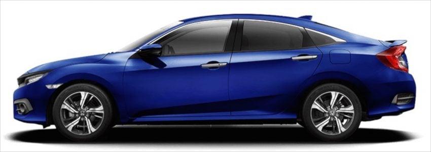 2016 Honda Civic detailed in Australia, from RM68k Image #480574