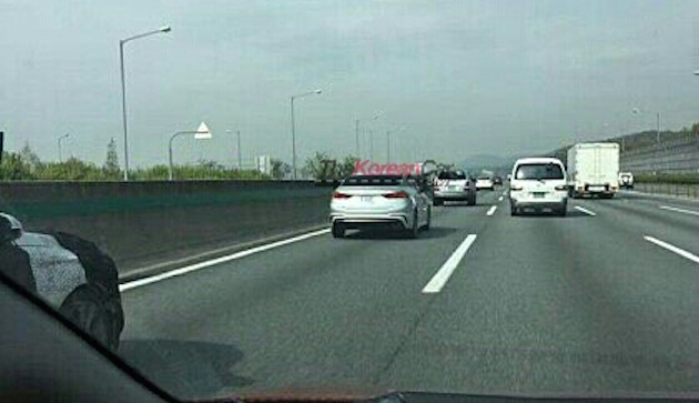 SPIED: Hyundai Elantra Sport goes public in Korea Image #481392