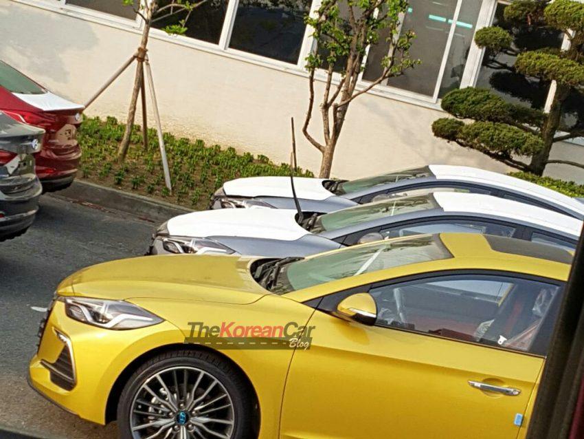 SPIED: Hyundai Elantra Sport goes public in Korea Image #481391