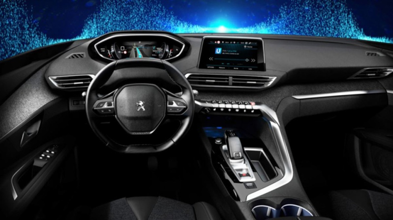 Interior leaked : 2016 Peugeot 3008 - Conti Talk - MyCarForum.com