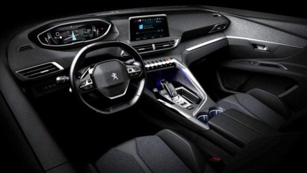 Next gen peugeot 3008 interior images appear online for Peugeot 3008 interior